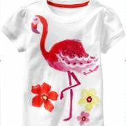 盖普旗下外贸童t恤厂价订做直销图片
