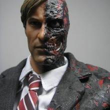 供应定位吸塑乳胶恐怖面具