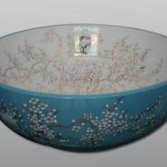 景德镇纯手工陶瓷艺术台盆图片