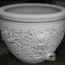 供应传统手工制作陶瓷大缸大件装饰品陶