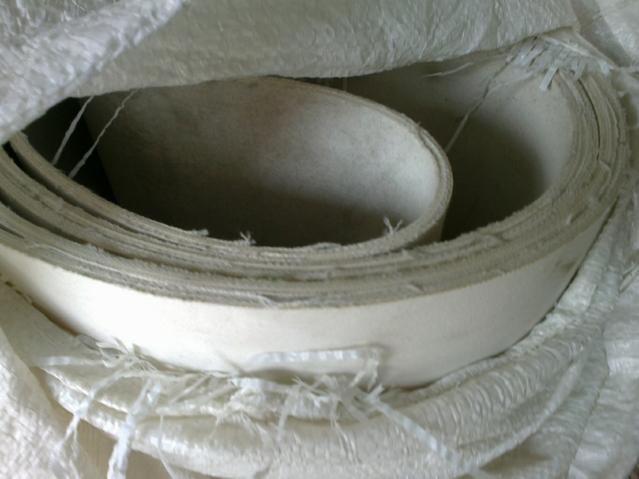 白色双面2.0mm-7.0mm帆布输送带 橡胶帆布输送带