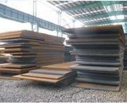 扬州沙钢中板锰板切割图片