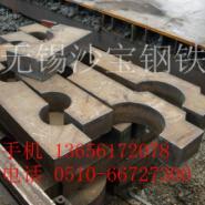 南京萍钢中板厚板切割加工图片