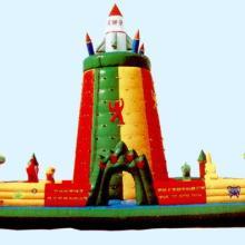 供应郑州童话玩具供应火箭充气攀岩