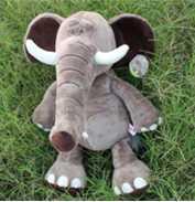 供应nici大象毛绒卡通玩具大象毛绒玩偶动物类儿童玩具定做