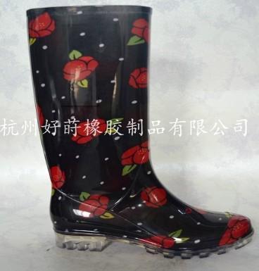 供应黑色女士雨鞋
