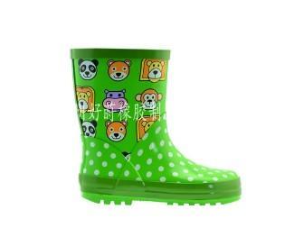 供应橡胶儿童雨鞋