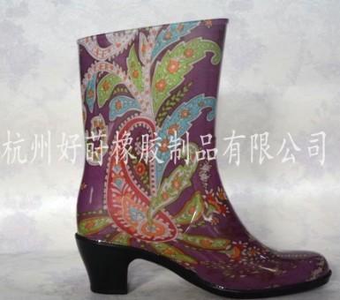 供应防滑时尚雨鞋