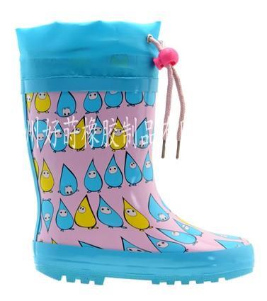 供应儿童橡胶雨鞋