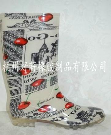 供应欧美pvc雨鞋