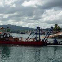 【分享】斐济挖沙船现场景色怡人东威挖沙船远渡重洋