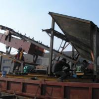 供应四传送筛沙机山矿砂筛沙设备