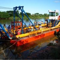 【分享】挖沙船工作现场图片