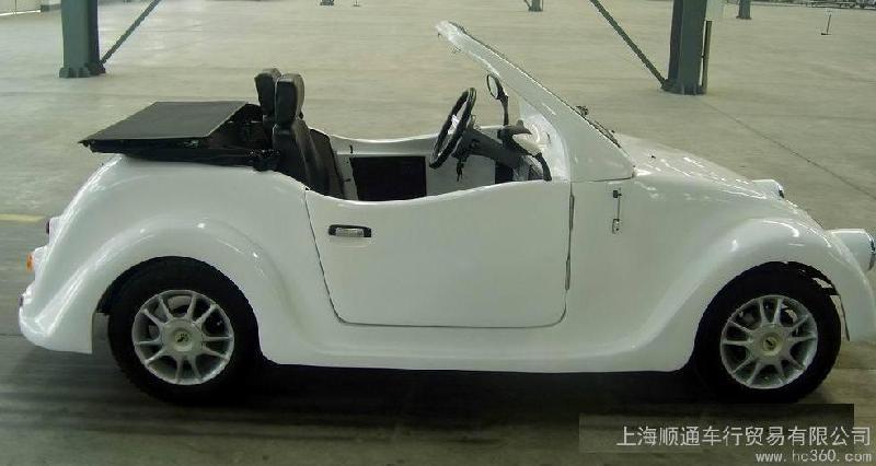老年全封闭代步车 新款emark认证两座四轮电动汽车高清图片