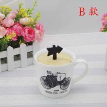 供应zakka杂货马克杯特色杯柄陶瓷杯批发