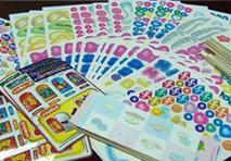 供应各种彩色贴纸