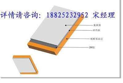 供应湖北酚醛板氟碳保温装饰一体化图片