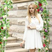 供应衣阁里拉2013夏季新款泡泡袖