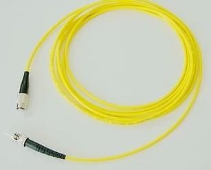 深圳FC-ST单芯单模光纤跳线图片