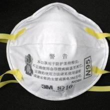 供应3M防护口罩(中英文防伪包装8210 N95