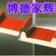 金属面聚氨酯夹芯板材图片