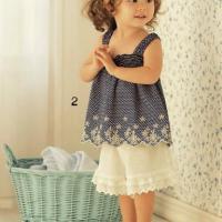 女宝宝吊带裙