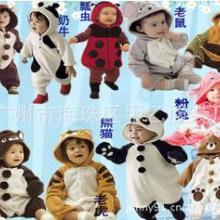 供应儿童动物造型衣最新价格广州儿童连身衣最新价格儿童服装供应商