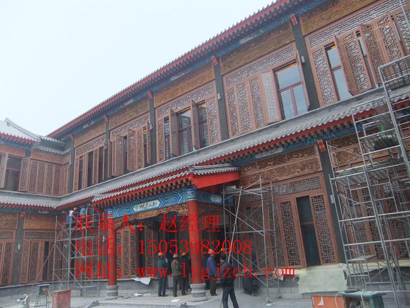 古建筑图片 古建筑样板图 古建筑彩绘 临沂古建筑彩绘