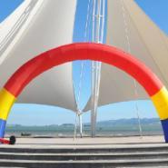 伊川婚庆20米拱门图片