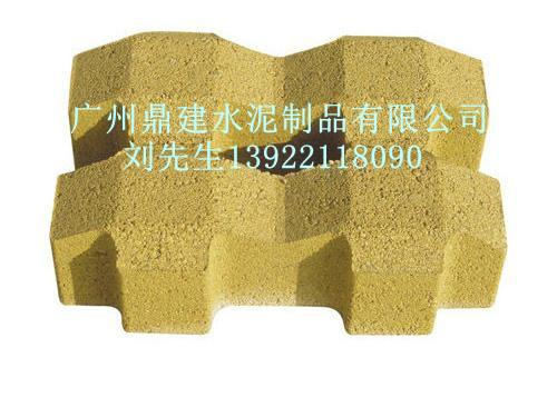 彩砖 彩砖供应商 供应广州人行道彩砖生产批发 彩砖价格 高清图片