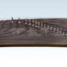 供应楠木山水浮雕古筝 古筝定制 扬州古筝 扬州正和民族乐器厂