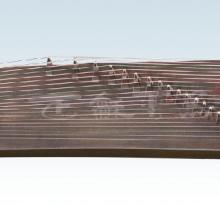 供应楠木一级精刻古筝 楠木古筝 扬州正和民族乐器厂