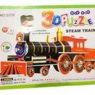 托马斯火车3d智能拼图图片
