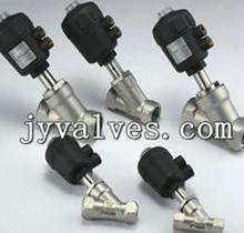 供应气动螺纹角座阀J611F