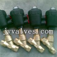 J611F黄铜气动角座阀图片