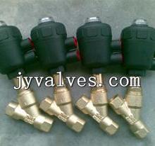 供应J611F黄铜气动角座阀