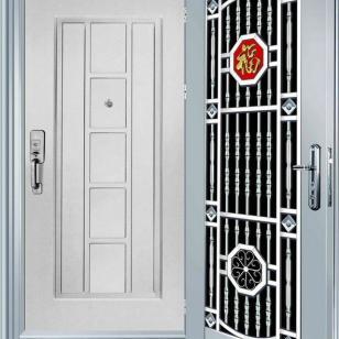 防盗门-套门YL-B09图片