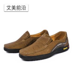 日常男士休闲鞋平底鞋子图片