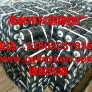 钢芯铸胶螺旋托辊磷复肥托辊专家图片