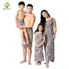 如意树亲子装母女装父子装全家装家庭装全套泳衣泳裤游泳裙子T338