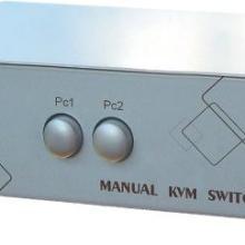 手动2口KVM切换器MPC3-21C监控视频共享器批发