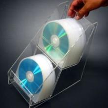 供应亚克力CD架_有机玻璃光盘收纳盒