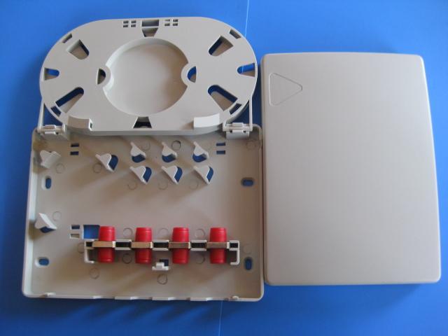 慈溪华创塑料光缆终端盒,四口光缆终端盒优质工厂推荐,慈溪华创通信厂