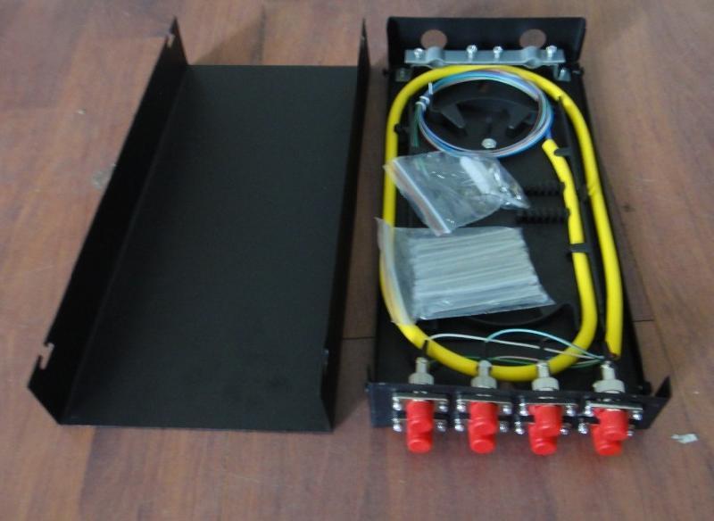 8芯机架式光缆终端盒批发价格,抽拉式终端盒商机 慈溪华创通信厂