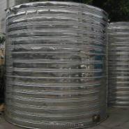 大型保温水塔图片