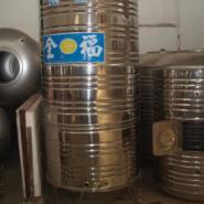 太阳能热水工程用不锈钢保温水箱图片