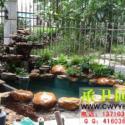 承卫园艺鱼池假山图片