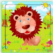 儿童早教益智木质拼图玩具图片