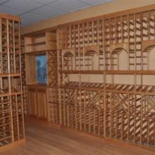 供应木质酒架 实木酒架