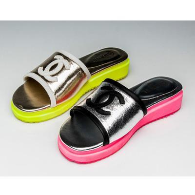 松糕凉鞋图片|松糕凉鞋样板图|新款香奈儿chanel全皮
